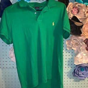 Ralph Lauren Green Short Sleeve Polo